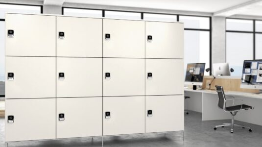 What is a 'Smart Lock' for Lockers?