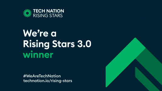 Its official – We are a Rising Stars Winner!